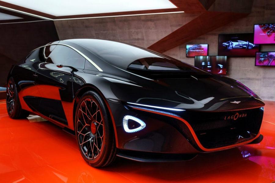Aston Martin presentó este coche para desvelar su firma especializada en coches de lujo de emisiones 0: Lagonda