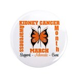 "Kidney Cancer Month 3.5"" Button"