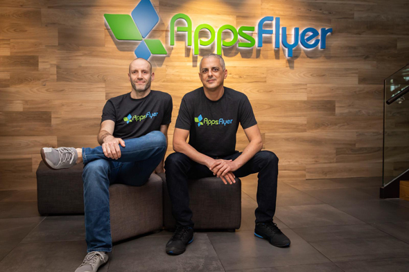 AppsFlyer co-founders. Photo: AppsFlyer