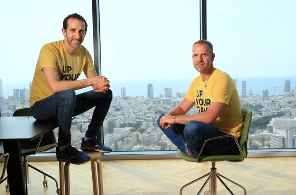 Logz.io co-founders. Photo: Ryan Frey