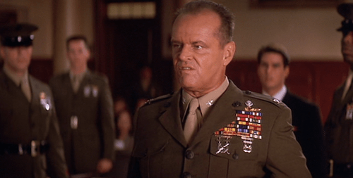Image result for a few good men jack nicholson