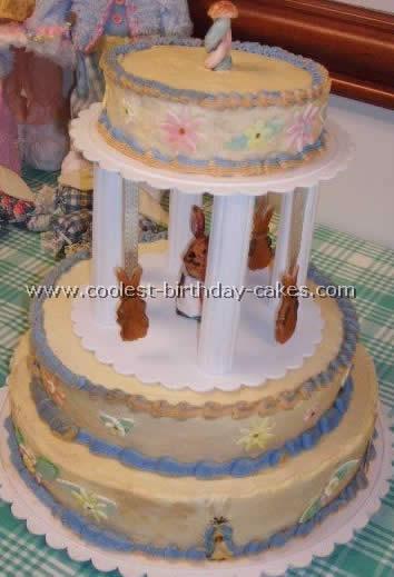 Coolest Homemade Peter Rabbit Cakes