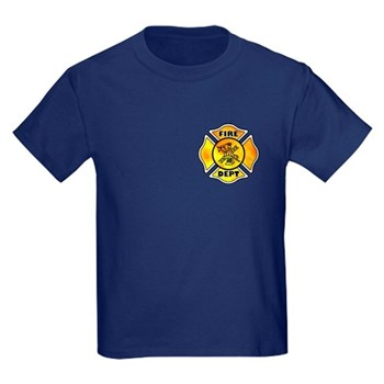 Fire Maltese Kids Dark T-Shirt  Infant, Youth and Adult Sizes