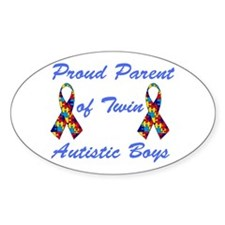 Autistic Twins Decal