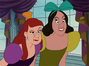 Princess Anastasia and Drizella Cartoons Disney