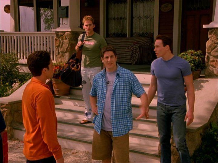 Kevin, Stiffler, Jim & Oz