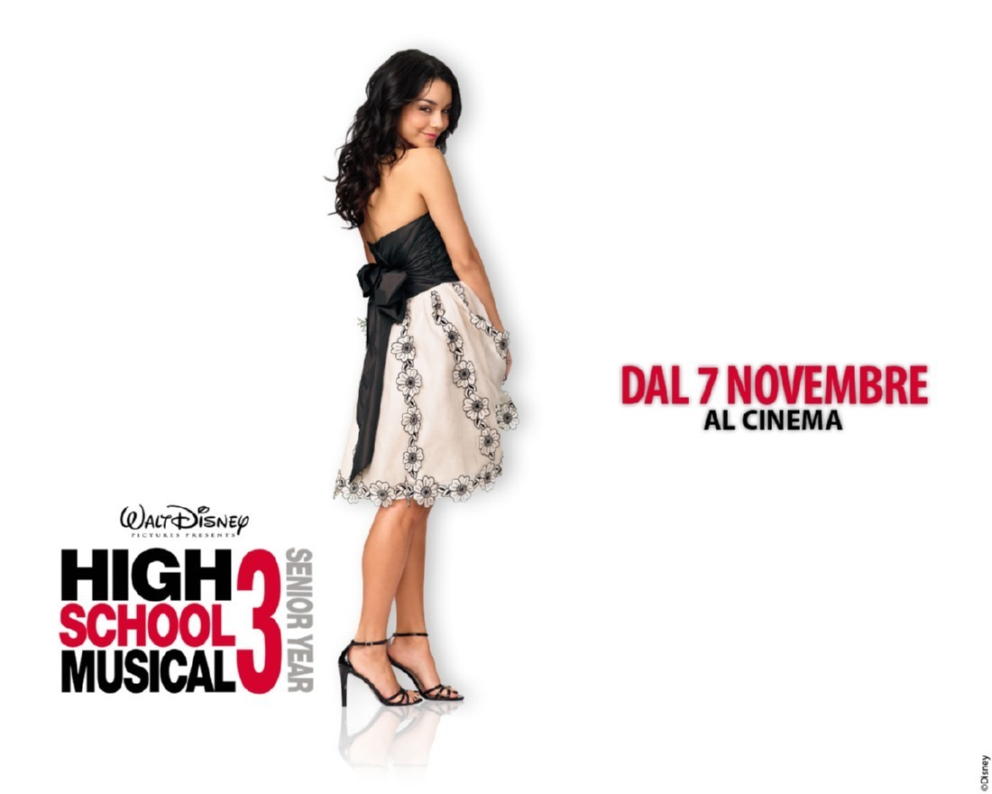 Baby V wallpaper - High School Musical 3 1100x880