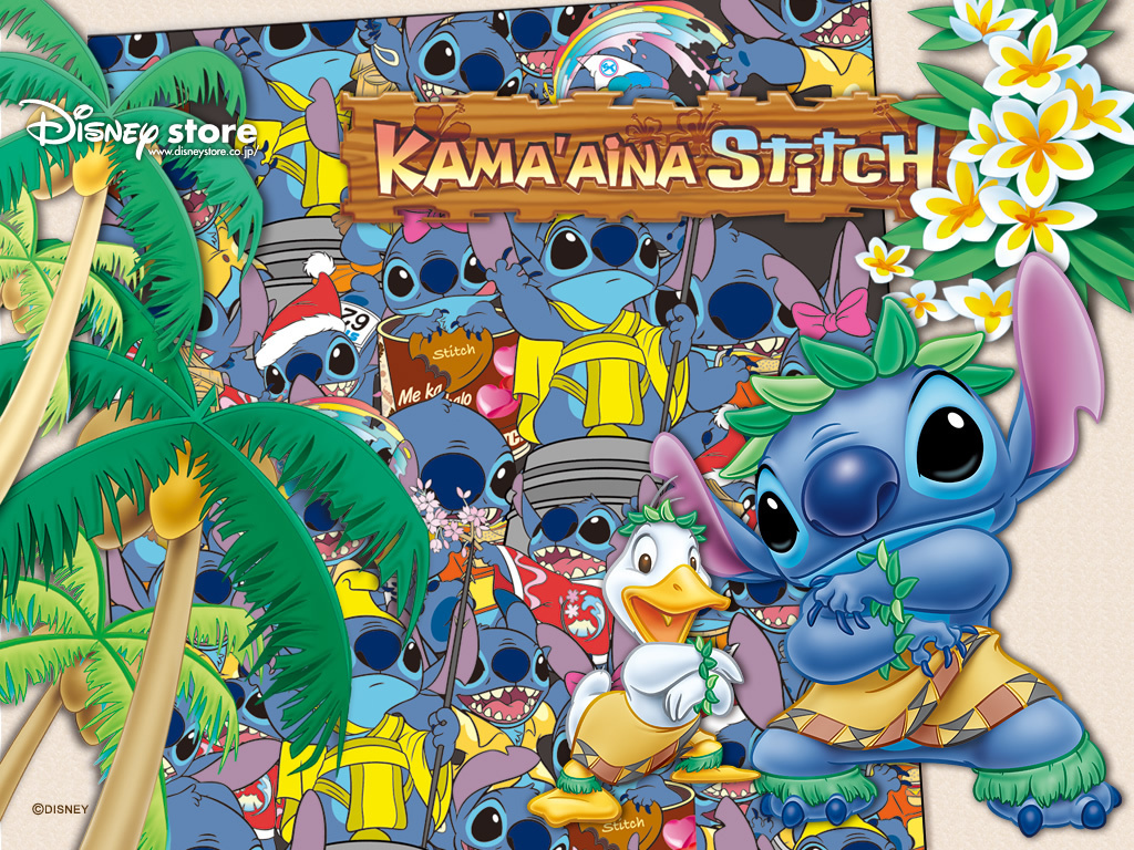 Stitch Wallpaper - Lilo & Stitch 1024x768 800x600