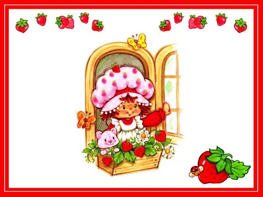 Strawberry Shortcake Wallpaper