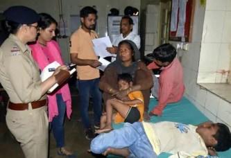 फूड प्वाइजनिंग से दो परिवारों के 11 लोग बीमार