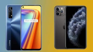 These smartphones are available at a discount of thousands of rupees, from iPhone to Realme