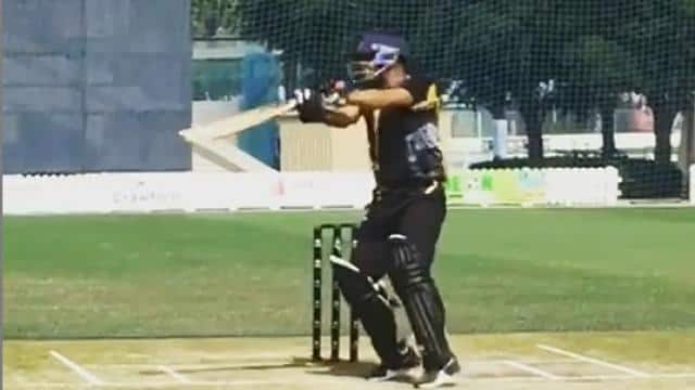 Virender Sehwag wrote a video of batting practice – wrote something new