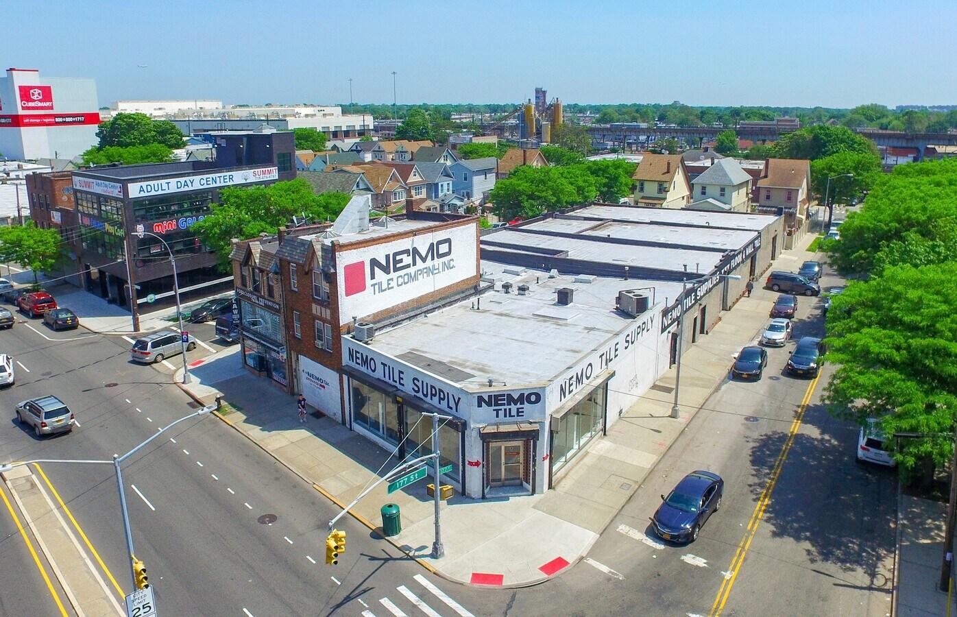 corner warehouse redevelopment site