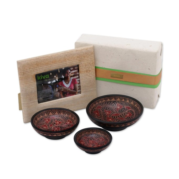 Kiva Bali And Java Handcrafted Gift Set For The Holiday Host