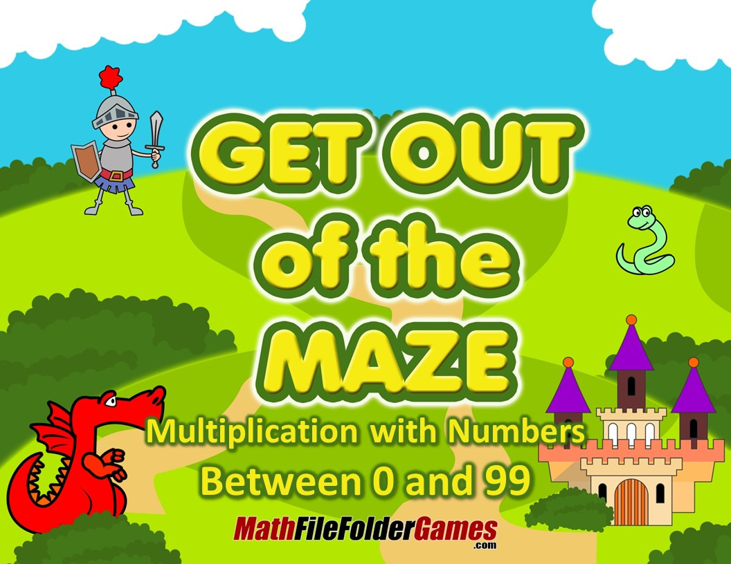 Multiplication With Numbers Between 0 And 12 Fun