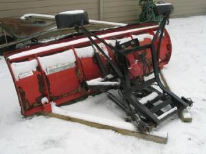 $1,200 western, snow plow, unimount pro series 7ft6in
