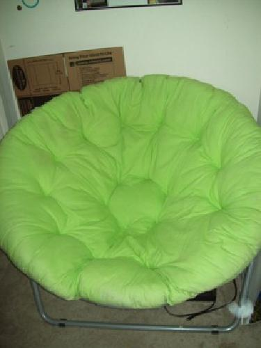 50 OBO Green Papasan Chair For Sale In West Lafayette
