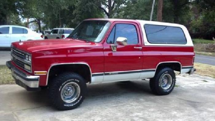 $7,500 1989 Chevy K5 Blazer