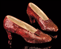 The recently acquired ruby slippers are just one centerpiece for the future Academy museum.