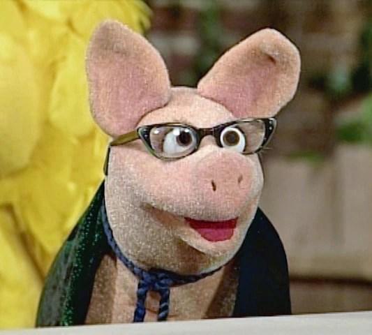 I.M. Pig from Sesame Street