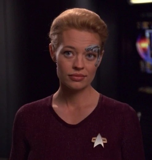 Jeri Ryan as Seven of Nine_Star Trek Voyager