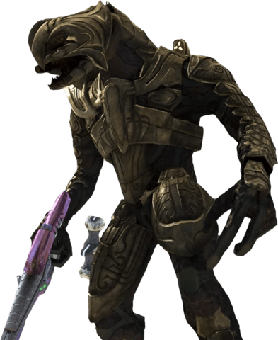The Arbiter from Halo 2 and 3