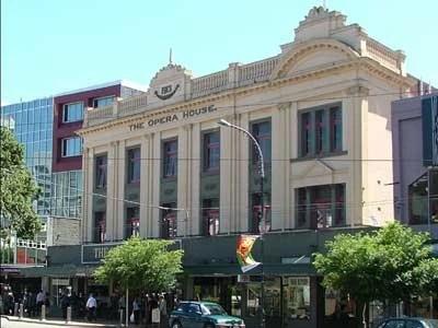 Wellington Opera House in Wellington, New Zealand