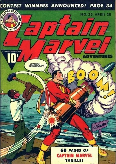 Captain Marvel Adventures 23