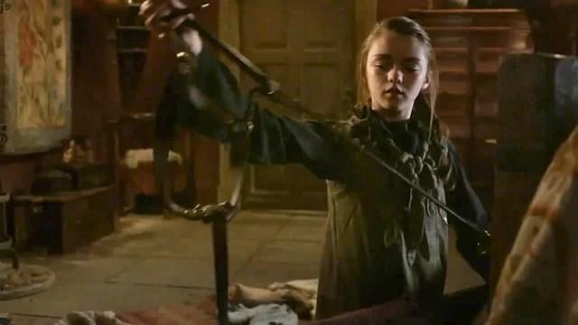 Arya stark season 4 needle