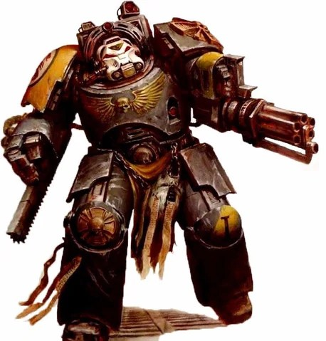 Red Scorpions Terminator Space Marine