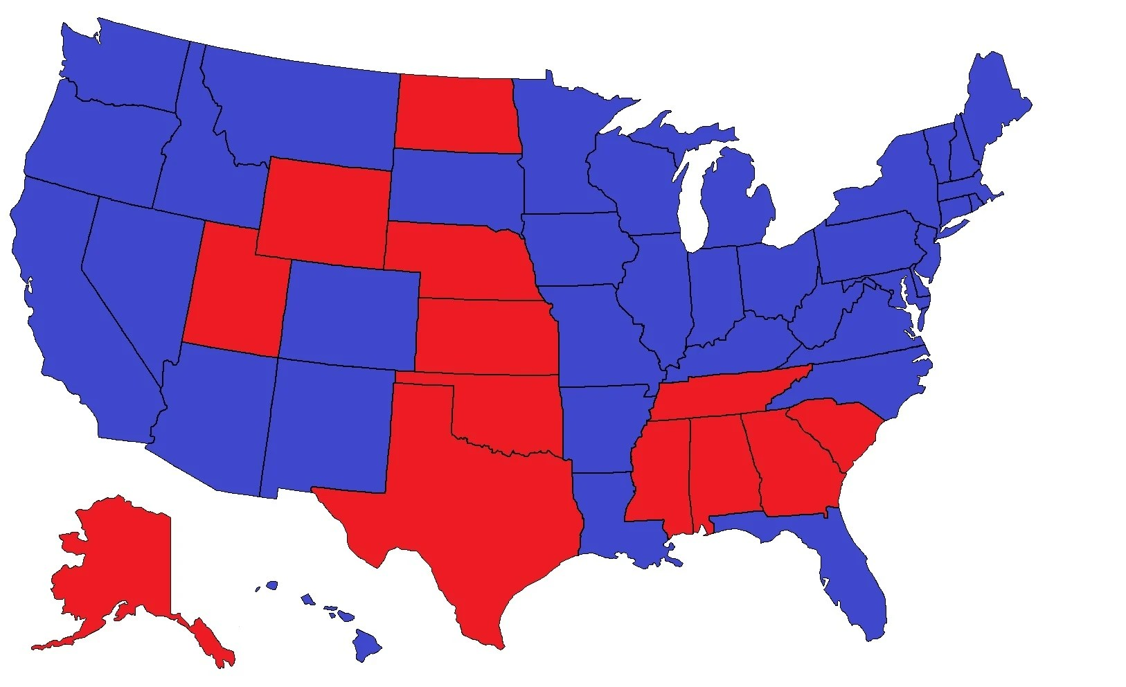 Kansas Federal District Courts Map