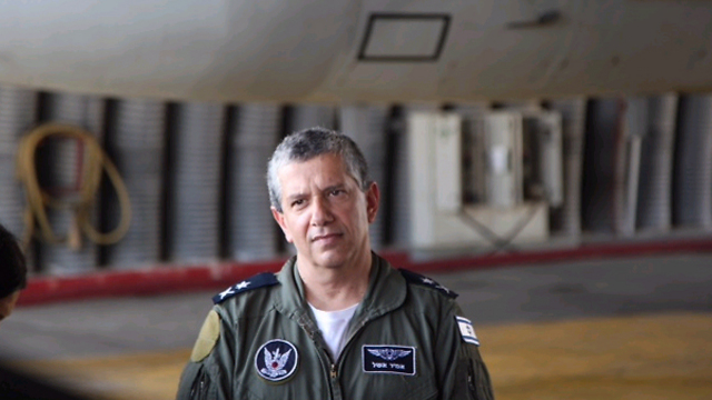 Former Israel Air Force Commander Major-General Amir Eshel. Leadership is also about sticking to your truth (Photo: Motti Kimchi)