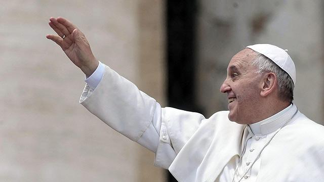 Pope Francis at Mass (Photo: EPA)