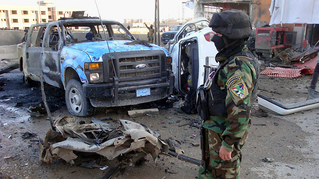 Iraqi army doesn't have enough power to impose order in the split country (Photo: AFP)