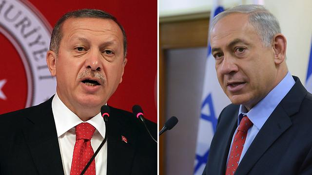 Erdogan, Natanyahu (Photo: AP, Kobi Gideon, GPO)