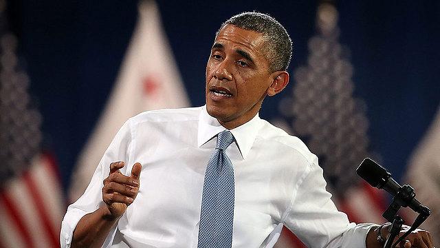 נשיא ארצות הברית אובמה (צילום: AFP)