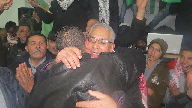 שחרור האסירים למזרח ירושלים, השבוע (צילום: חסן שעלאן)