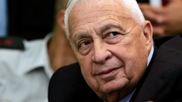 Ariel Sharon at a Knesset meeting in 2005 (Photo: Reuters)