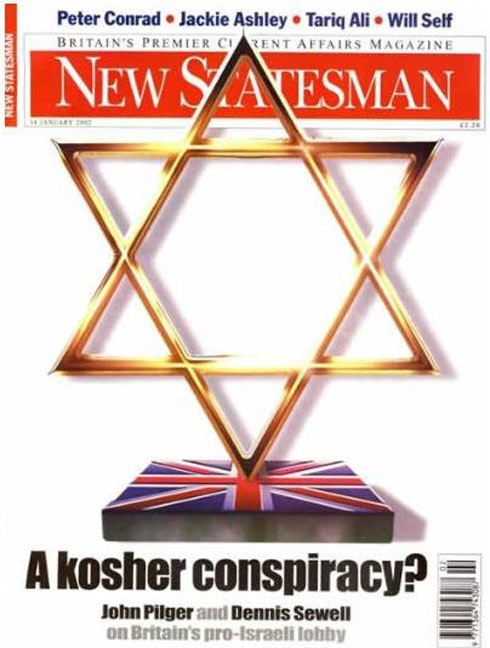 The New Statesman cover
