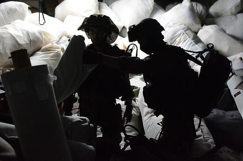 IDF forces in Nablus (Photo: IDF)