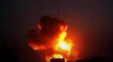 IAF attack in Syria