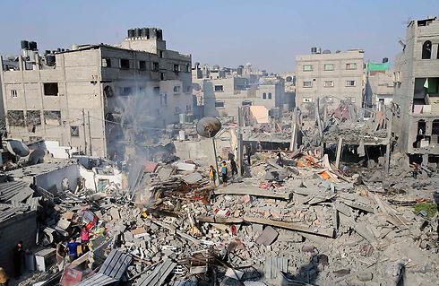 rafah destruction