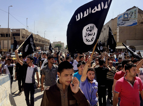 ISIS or 'Daesh' supporters in Syria (Photo: AP)