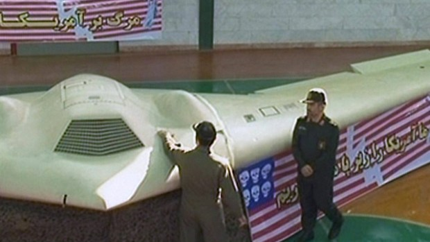 Американский БПЛА, захваченный Ираном, 2011 год (Photo: AFP)