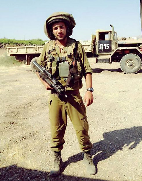Dolah during his IDF service in the Golani Brigade.