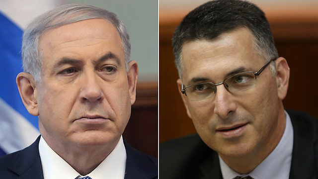 Netanyahu and Sa'ar: Rivals for Likud leadership. (Photos: Alex Kolomoisky)