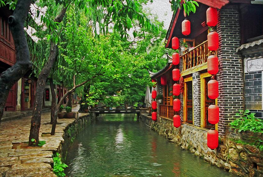 מקום קסום. לי ג'יאנג (צילום: shutterstock)