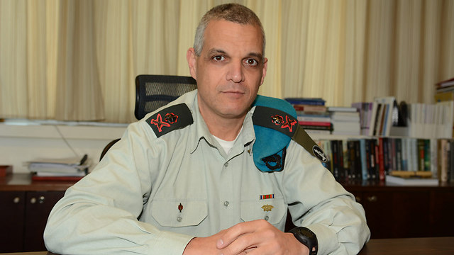 Outgoing Operations Directorate chief, Maj-Gen. Yoav Har Even (Photo: George Ginsburg)
