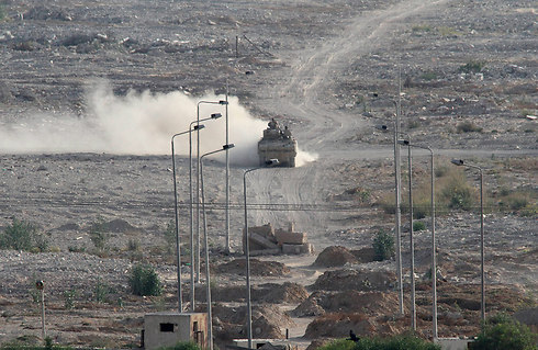 Egyptian army fighting Islamic State in Sinai (Photo: AP)