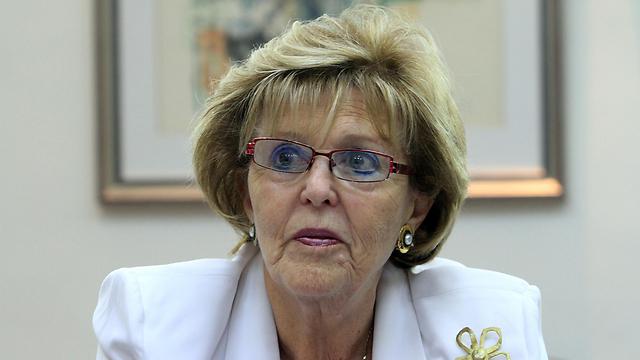 בראש הוועדה. שופטת העליון בדימוס, עדנה בארבל (צילום: גיל יוחנן)